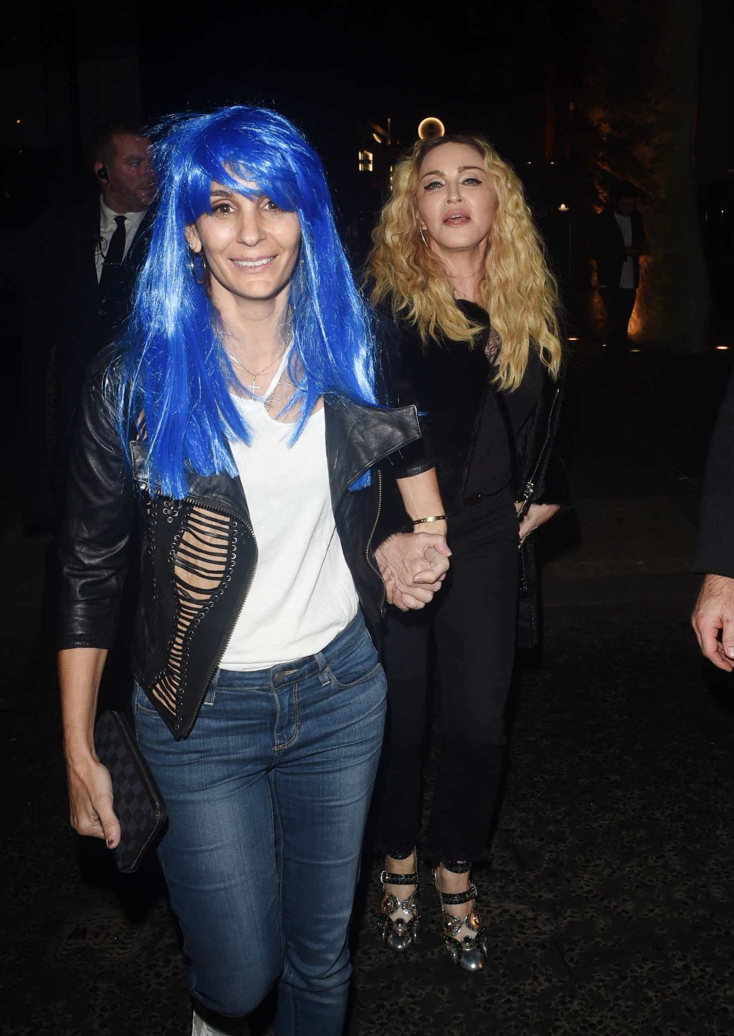 Madonna: Halloween Party at M Restaurant -09 - GotCeleb