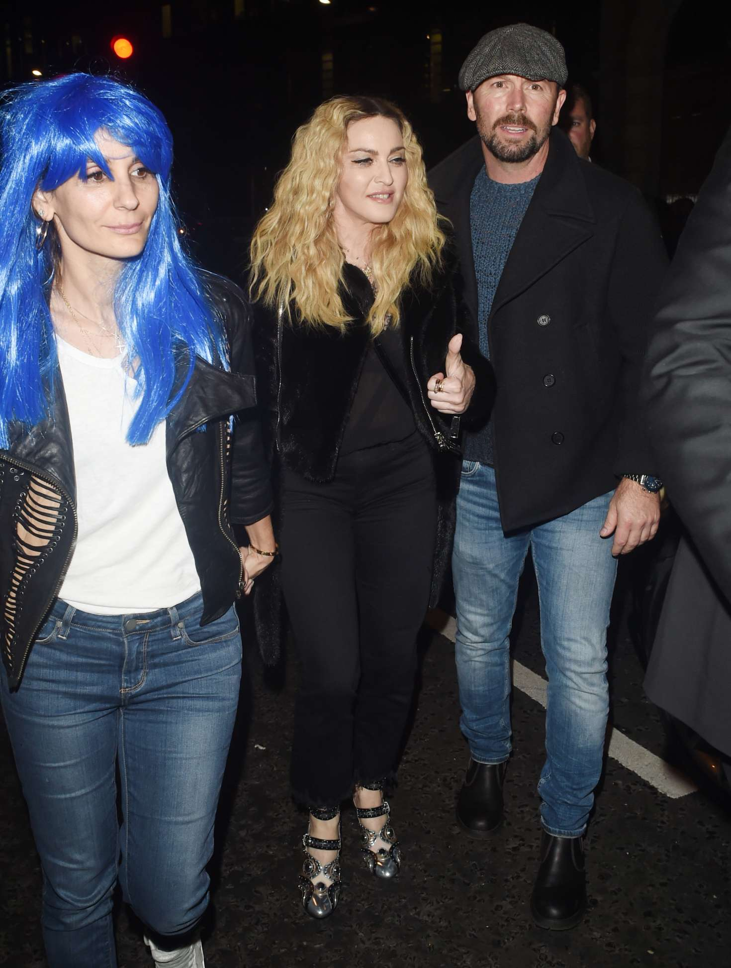 Madonna: Halloween Party at M Restaurant -13 - GotCeleb