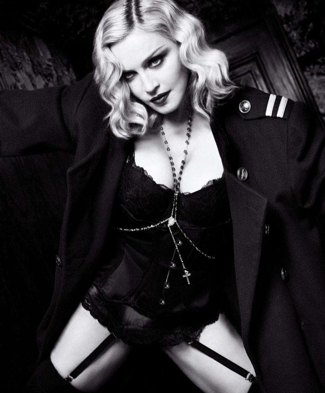 Madonna - Harper's Bazaar US Magazine (February 2017)