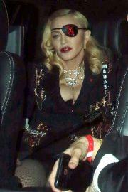 Madonna - Leaves MTV Studios in London
