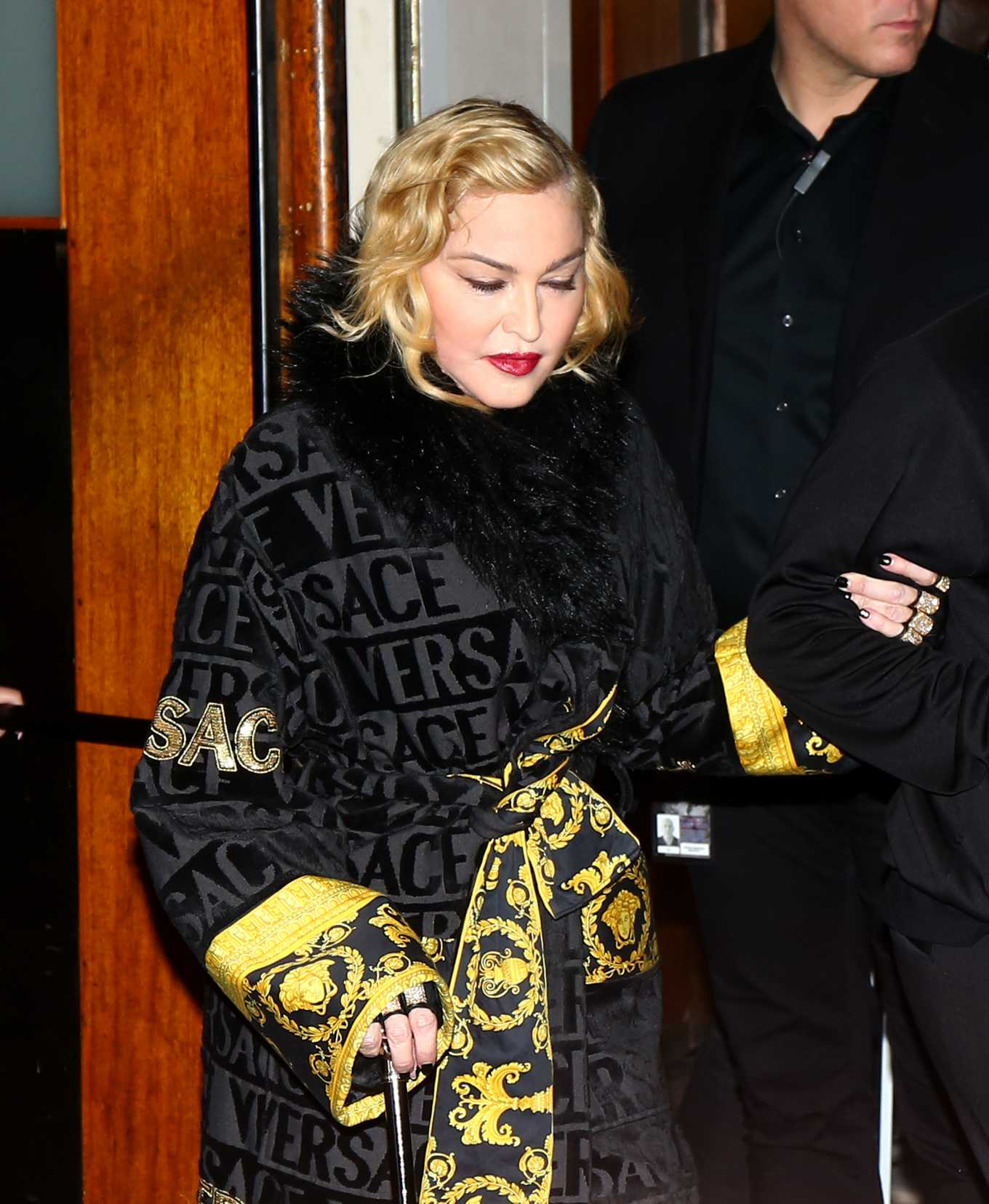 Madonna - Leaves the Grand Rex