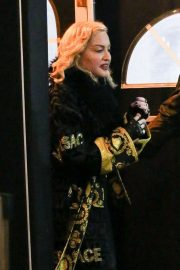 Madonna - Leaving Chicago Theater during her 'Madame X' tour