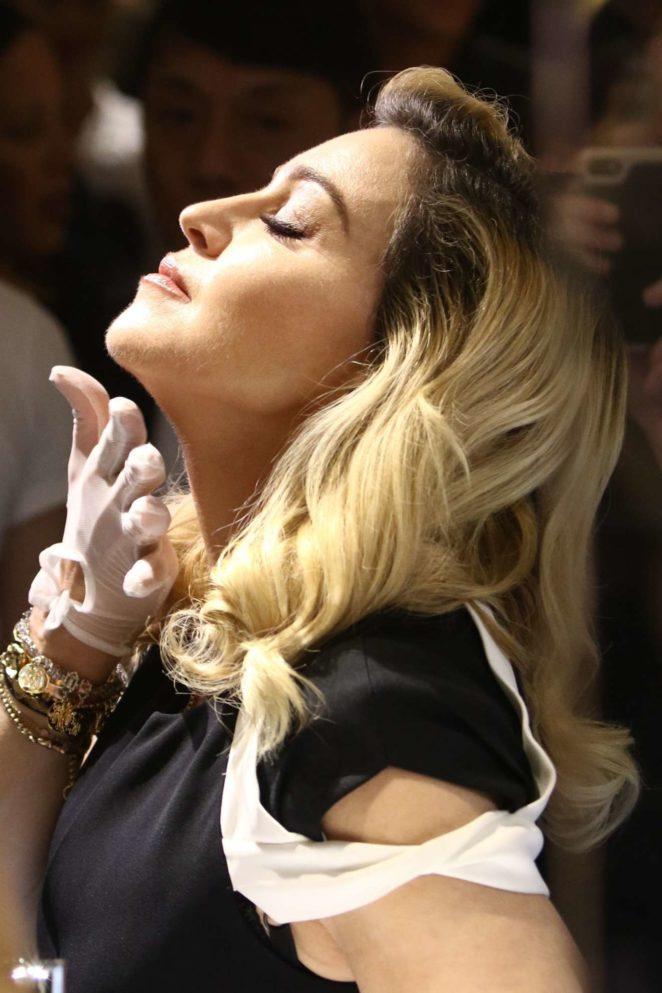 Madonna - MDNA Skin Line Promotion at Barneys New York
