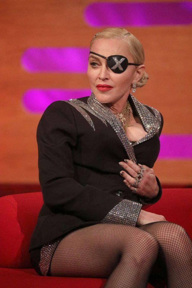 Madonna - On Graham Norton Show in London