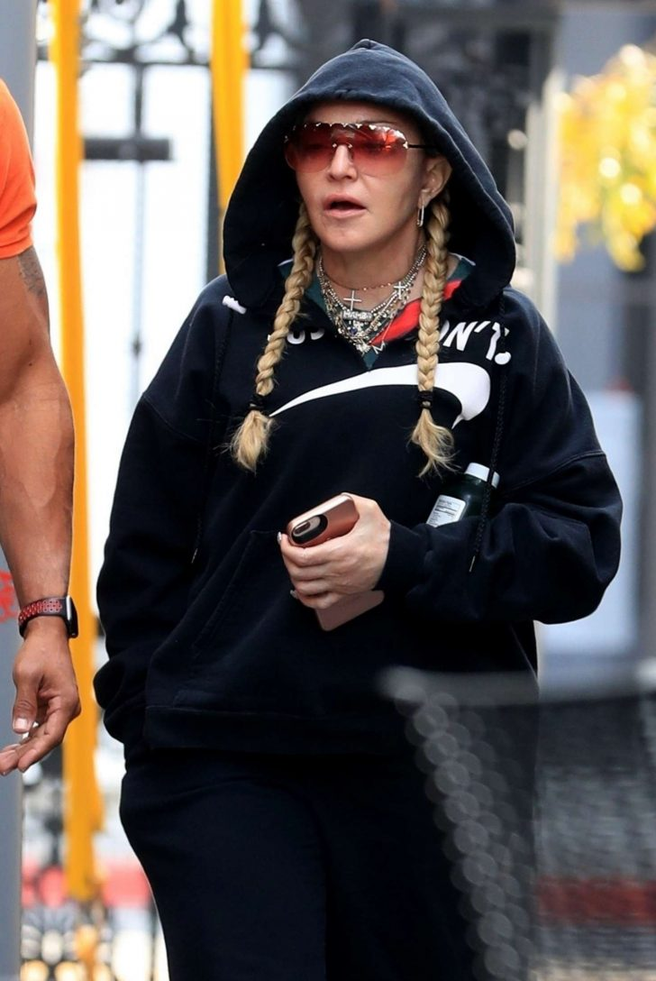 Madonna - Out for spin class in West Hollywood
