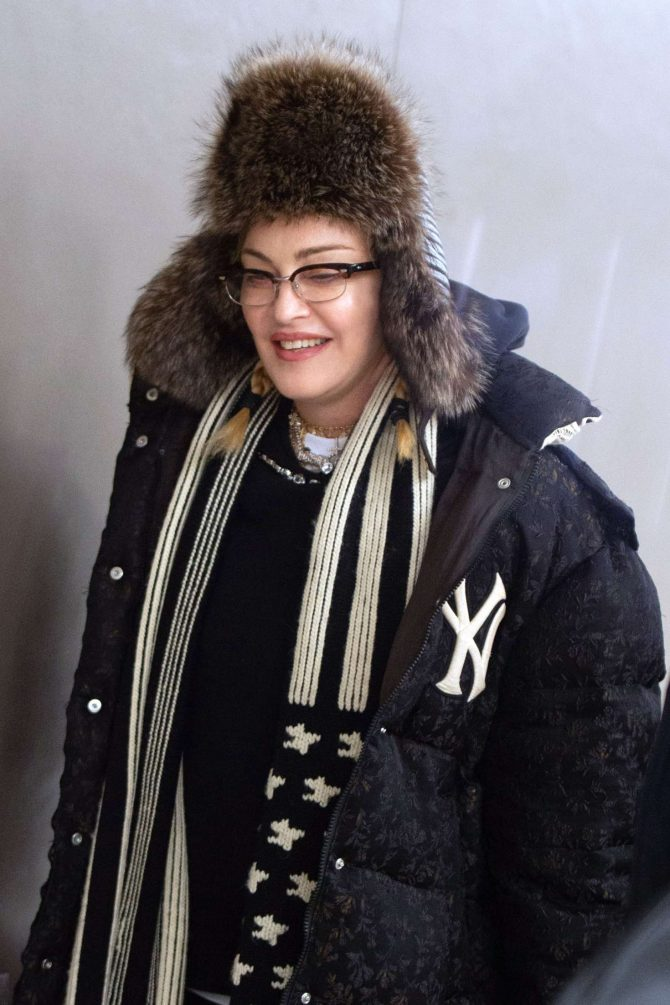 Madonna - Out in New York