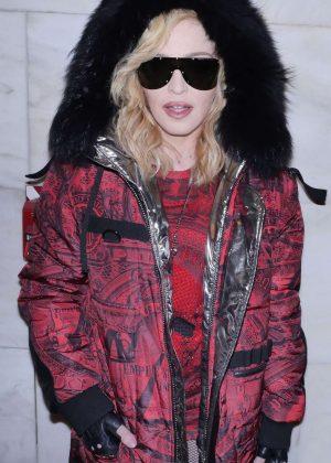 Madonna - Phillip Plein Show at 2017 NYFW in New York