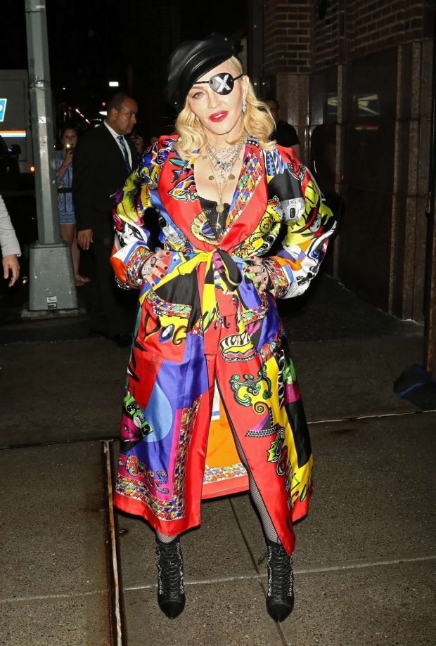 Madonna - Promoting her new album Madame X in New York