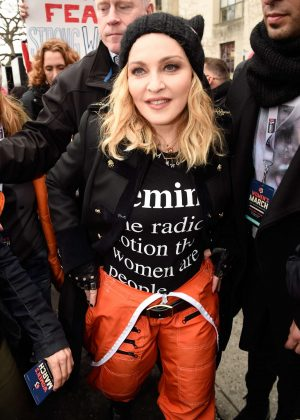Madonna - Women's March on Washington