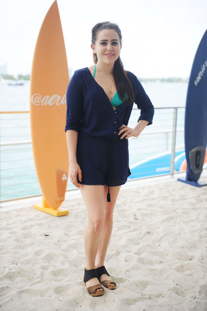 Mae Whitman: Aerie Celebrates Swim AerieREAL -28