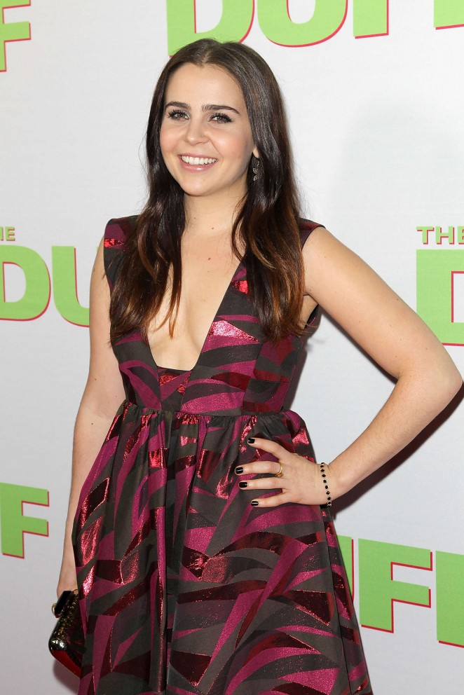"Mae Whitman - ""The Duff"" Premiere in Los Angeles"