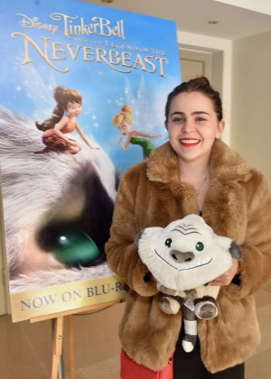 "Mae Whitman - ""Tinker Bell and the Legend of the Neverbeast"" Screening in Burbank"