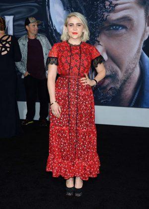 Mae Whitman - 'Venom' Premiere in Los Angeles