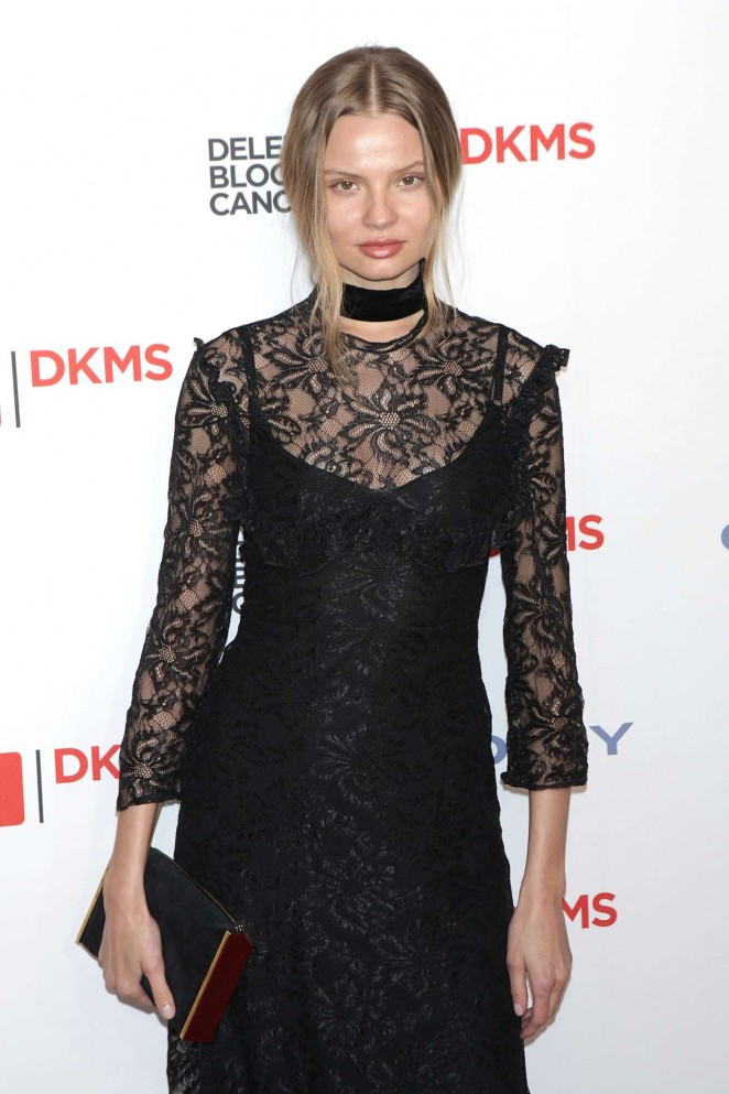 Magdalena Frackowiak - 10th Annual Delete Blood Cancer DKMS Gala in New York