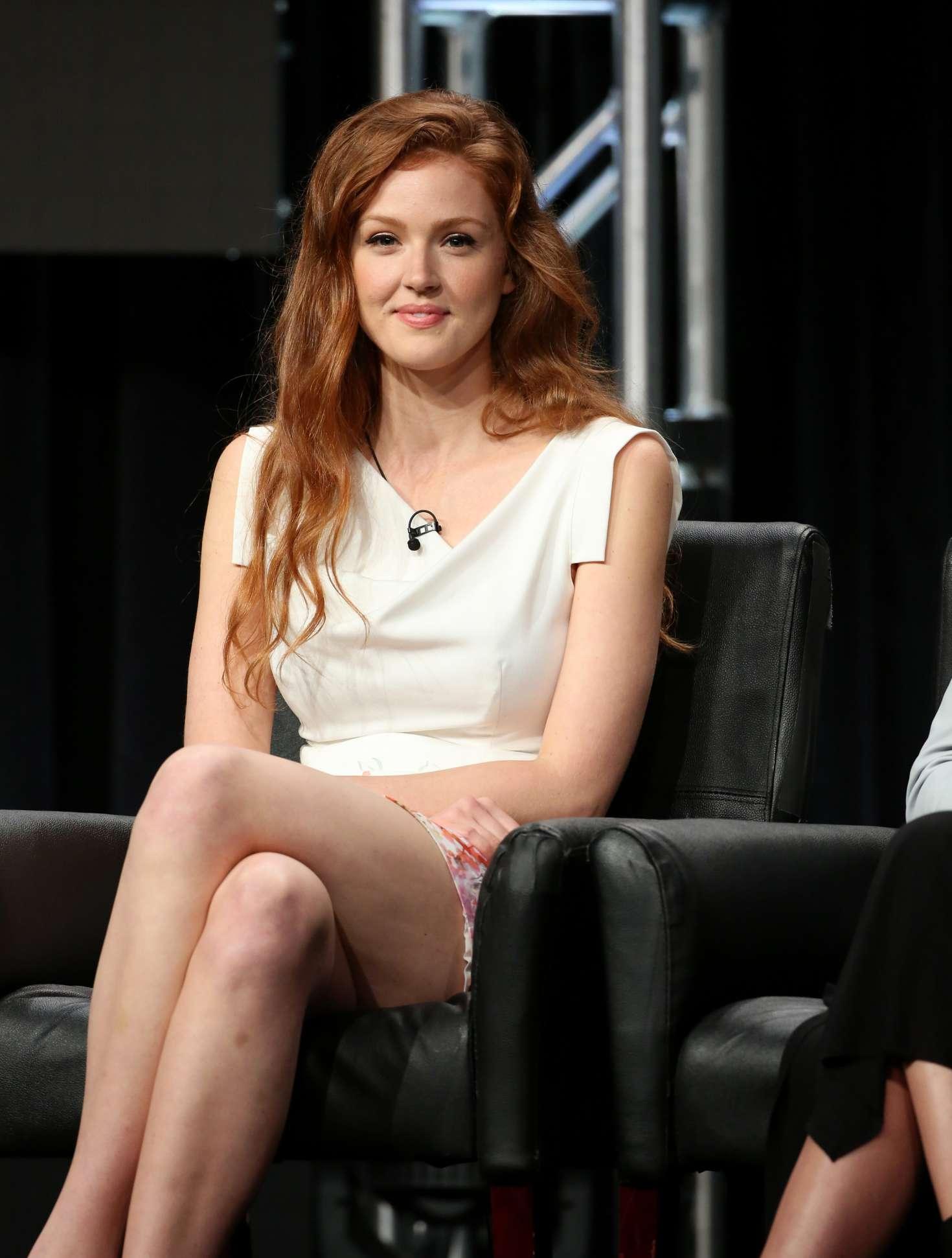 Maggie Geha - FOX 'Gotham' and 'Lucifer' Panels at 2016 ...