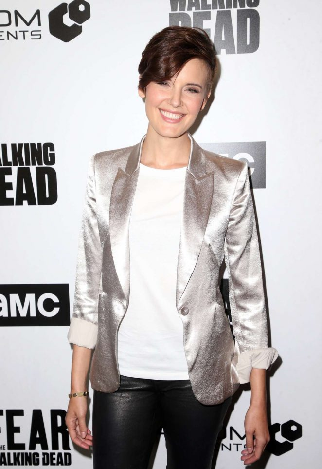 Maggie Grace - FYC 'The Walking Dead' and 'Fear the Walking Dead' in Los Angeles