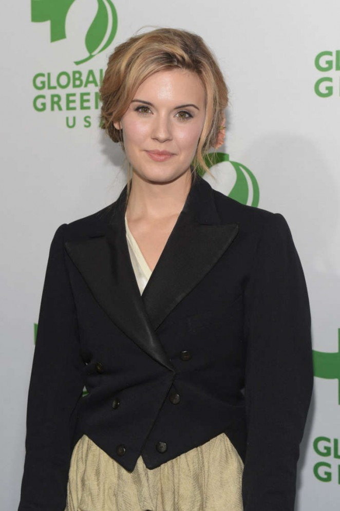 Maggie Grace - Global Green USA 2015 Pre-Oscar Party in LA