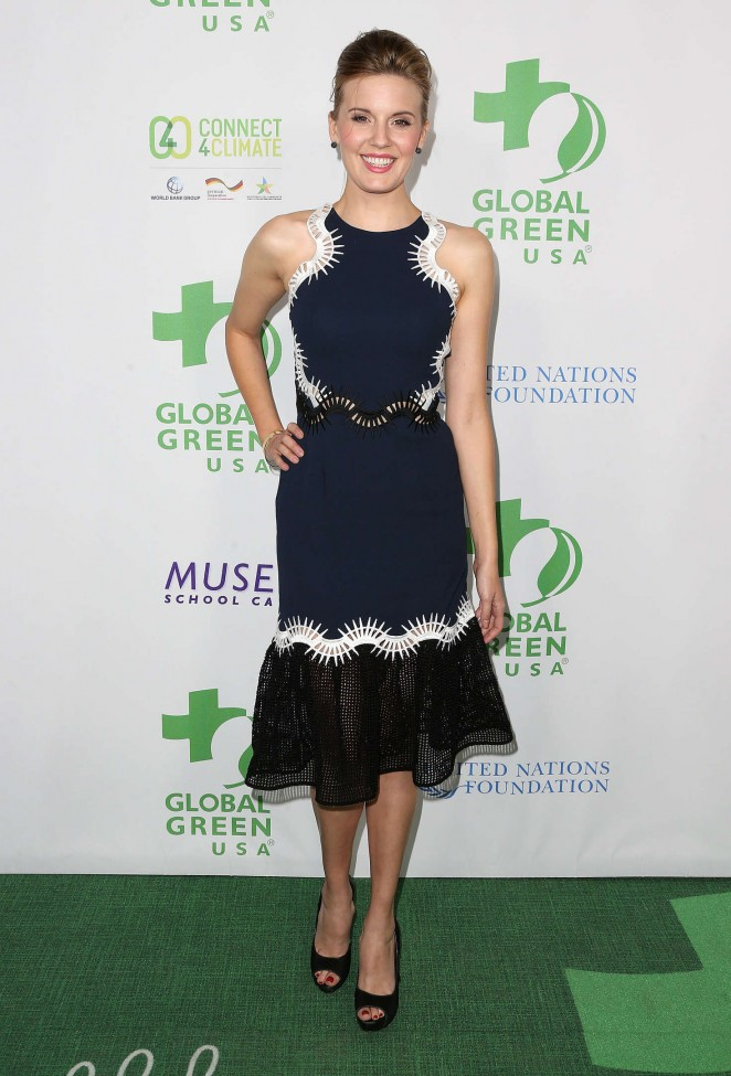 Maggie Grace - Global Green USA's 13th Annual Pre-Oscar Party in LA
