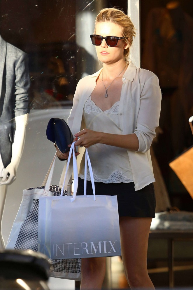 Maggie Grace in Shorts -15
