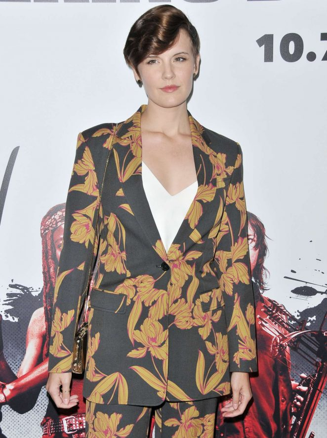 Maggie Grace – 'The Walking Dead' TV Show Screening in LA