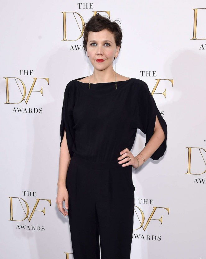 Maggie Gyllenhaal - 2015 DVF Awards at United Nations in NY