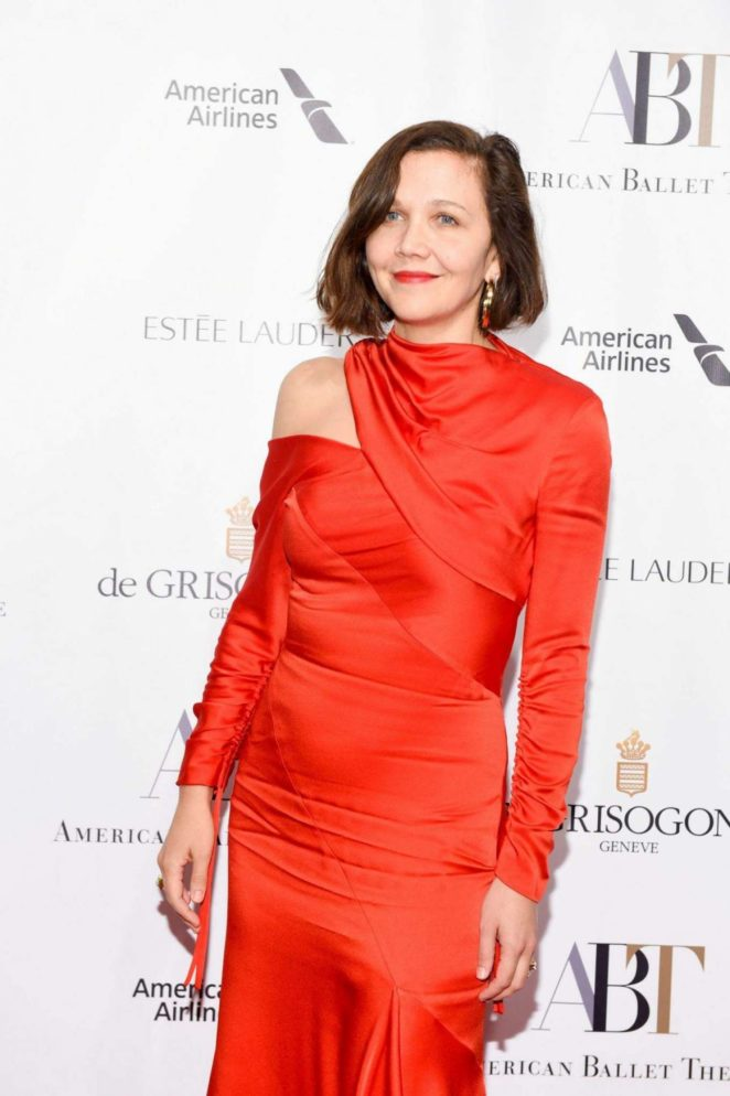 Maggie Gyllenhaal – 2017 American Ballet Theatre Fall Gala in New York