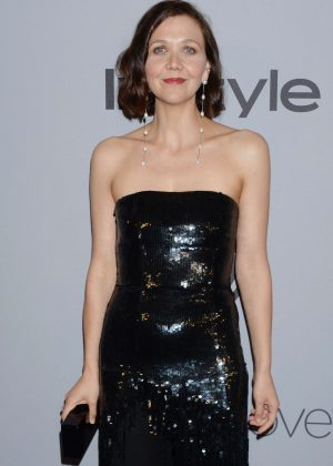 Maggie Gyllenhaal - 2018 InStyle and Warner Bros Golden Globes After Party in LA