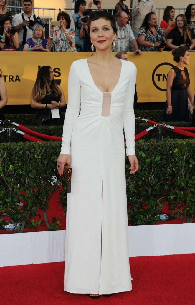 Maggie Gyllenhaal – 21st Annual Screen Actors Guild Awards in LA