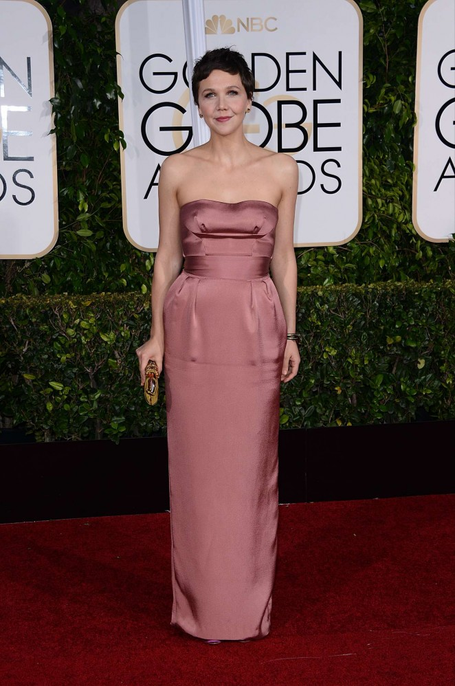 Maggie Gyllenhaal – 72nd Annual Golden Globe Awards in Beverly Hills