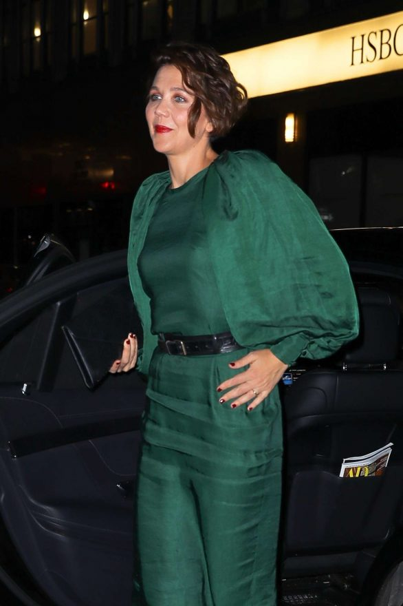 Maggie Gyllenhaal - Arrives at the Ovarian Cancer Research Alliance Presents Style Lab in NYC