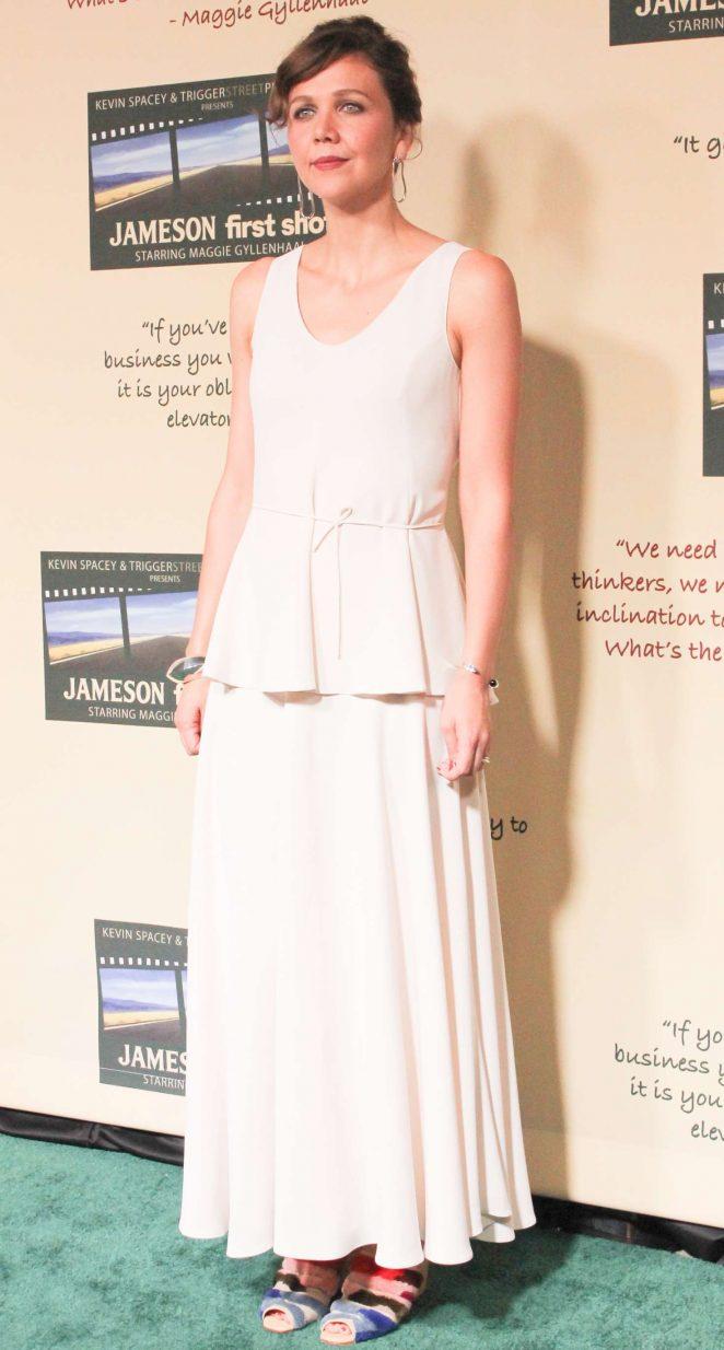 Maggie Gyllenhaal - 'Jameson First Shot' Premiere in Los Angeles