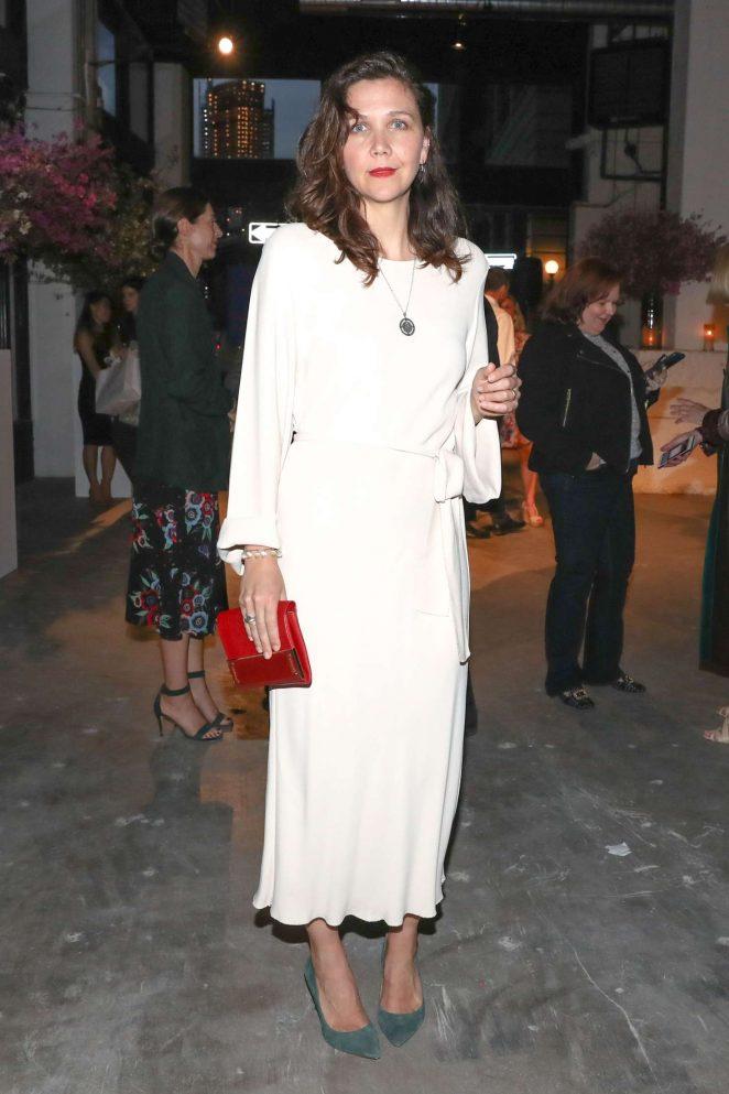 Maggie Gyllenhaal - Maisonette.com Launch Dinner Party in New York