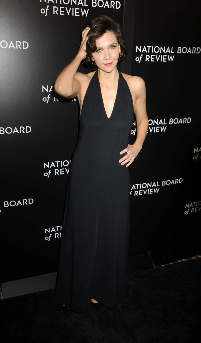 Maggie Gyllenhaal - National Board of Review Awards Gala 2016 in New York