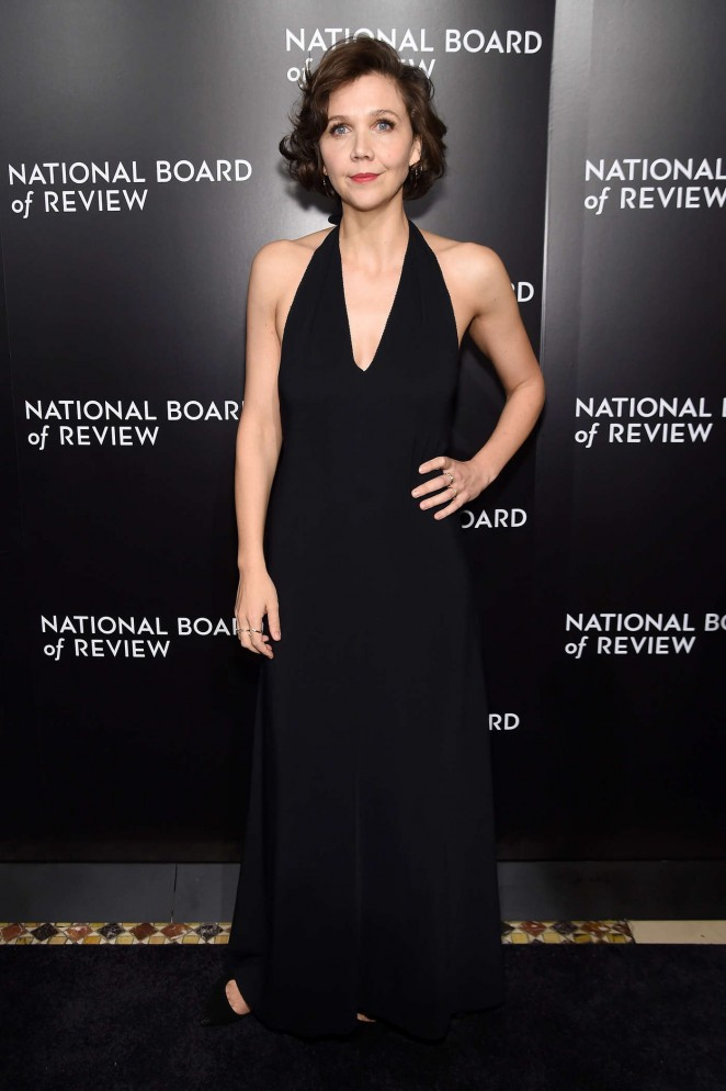 Maggie Gyllenhaal: National Board of Review Awards Gala 2016 -04