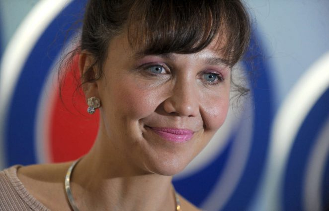 Maggie Gyllenhaal opening party Cave to Keyboard Pepsi Event -02