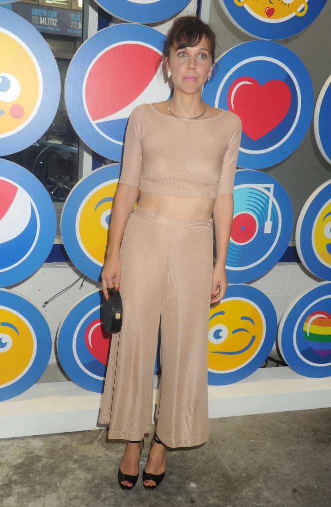 Maggie Gyllenhaal opening party Cave to Keyboard Pepsi Event in NYC