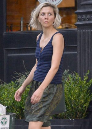 Maggie Gyllenhaal - Out in New York
