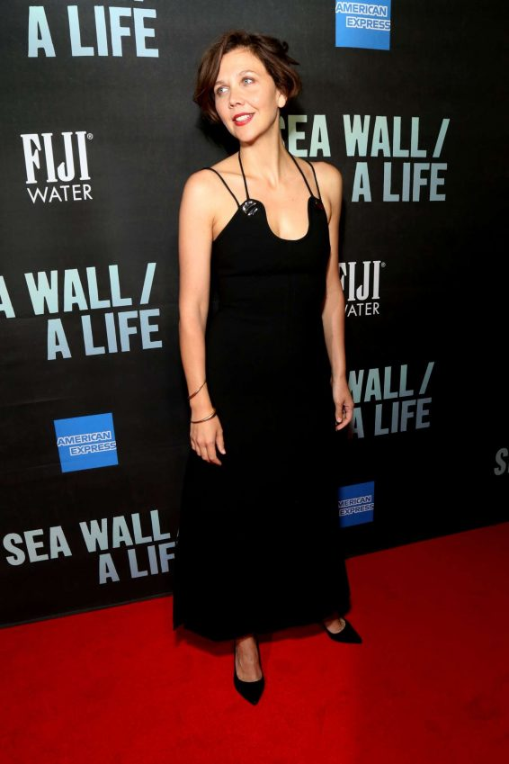 Maggie Gyllenhaal - 'Sea Wall/A Life' Opening Night in New York