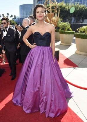 Maggie Gyllenhaal - 2015 Emmy Awards in LA