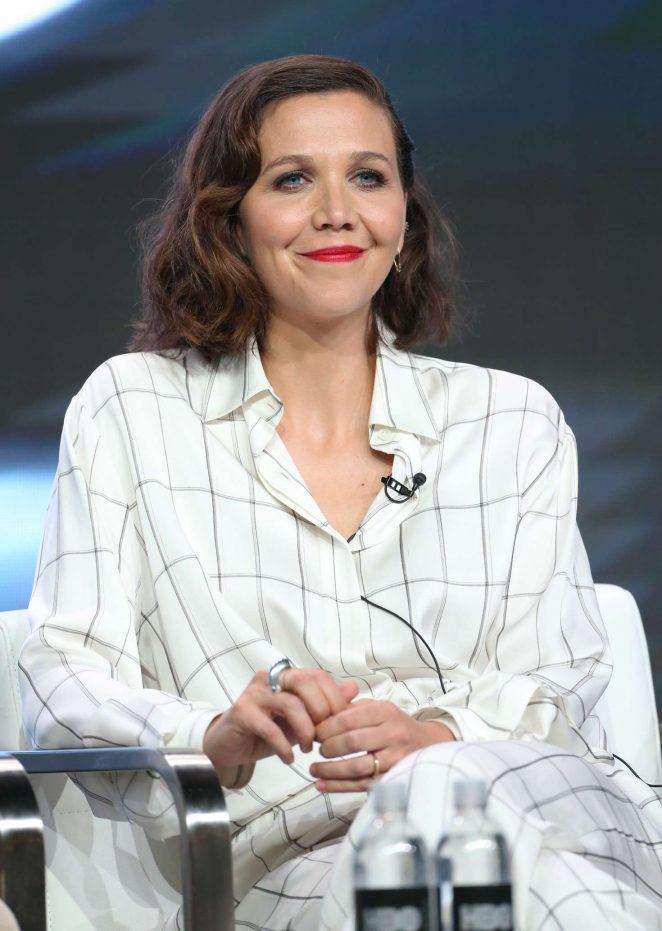 Maggie Gyllenhaal - 'The Deuce' TV Show Panel at 2017 TCA Summer Press Tour in LA