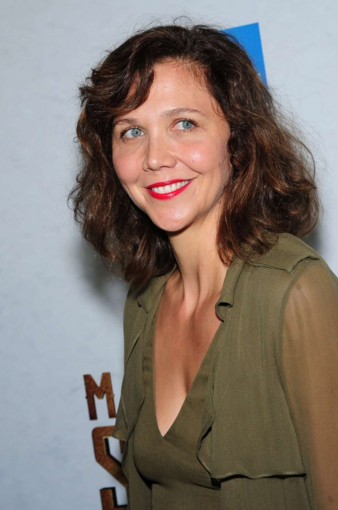 Maggie Gyllenhaal – 'The Magnificent Seven' Premiere in New York