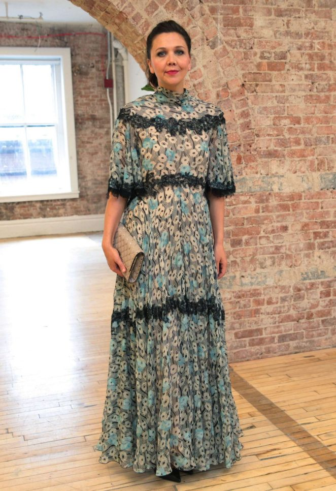 Maggie Gyllenhaal - Valentino Resort 2018 Show in New York