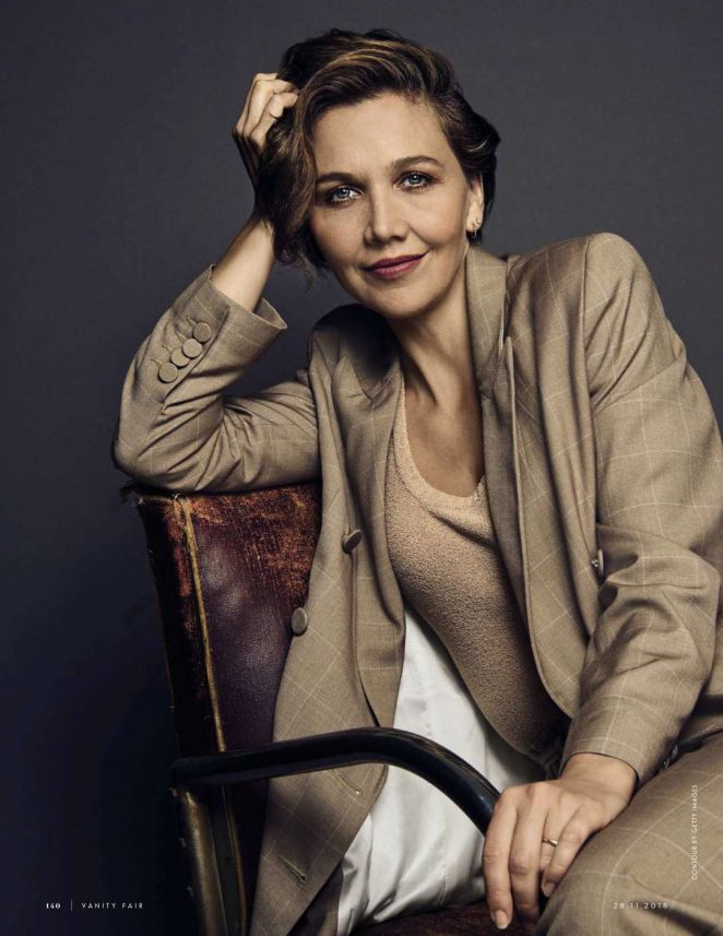 Maggie Gyllenhaal – Vanity Fair Italy Magazine (November 2018)