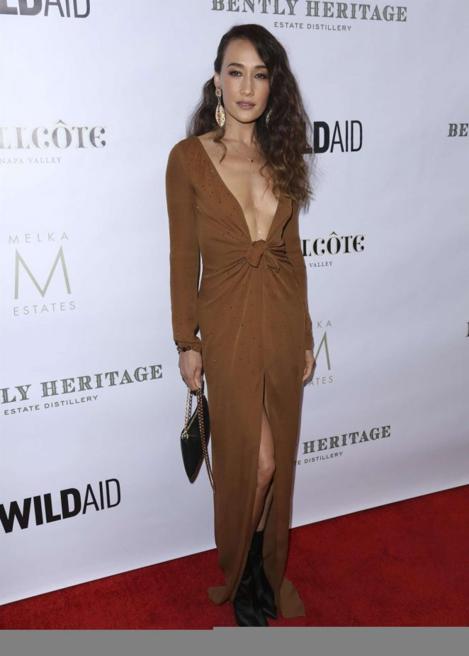 Maggie Q – Evening in China with WildAid 2018 in Beverly Hills