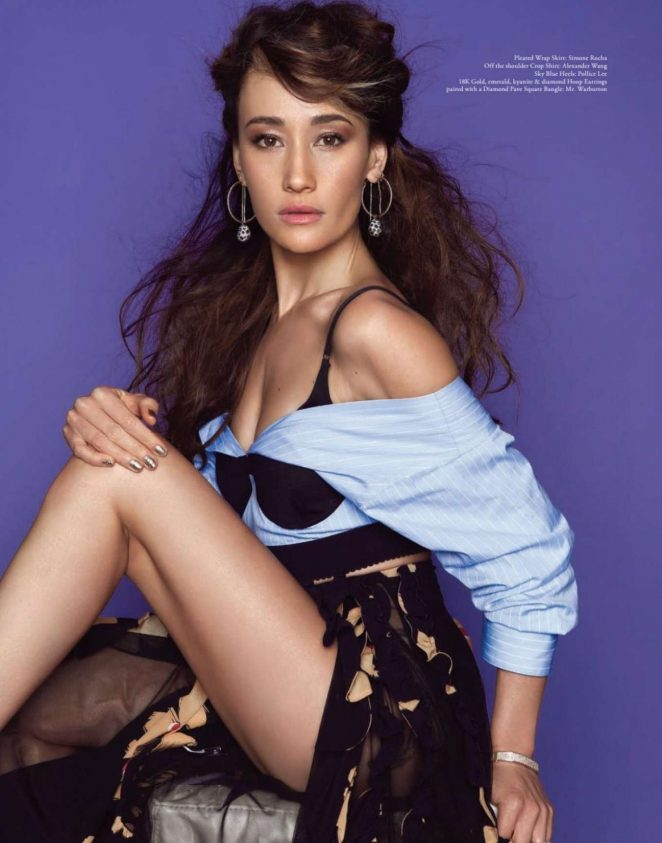 Maggie Q for Lapalme Magazine (Summer 2018)
