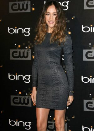 Maggie Q - In Tight Dress at CW Premiere Party presented by Bing in Burbank