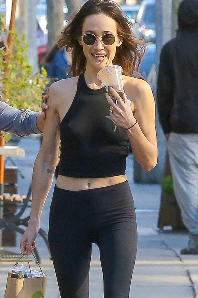 Denise Moore >> Maggie Q in Tights -04 - GotCeleb