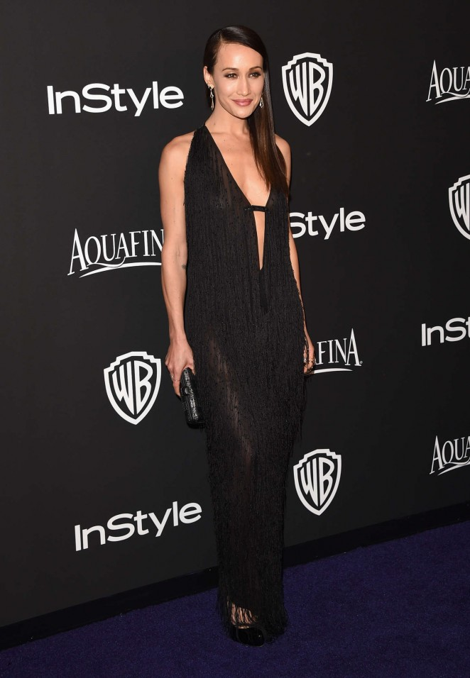 Maggie Q - InStyle And Warner Bros Golden Globes Party 2015 in Beverly Hills