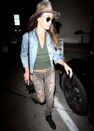 Maggie Q - Out for Dinner in West Hollywood