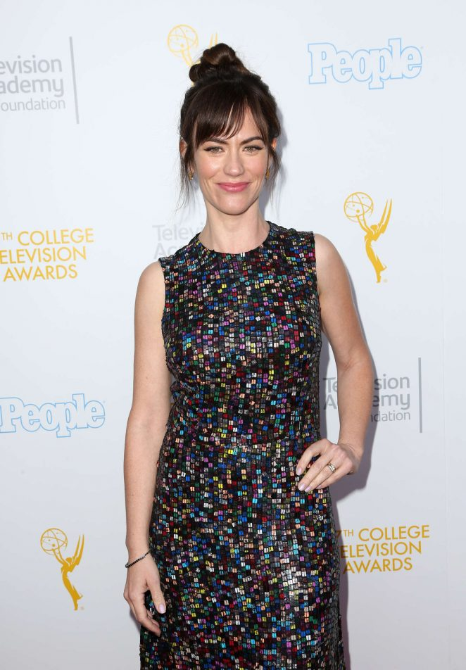 Maggie Siff - 37th College Television Awards in Los Angeles